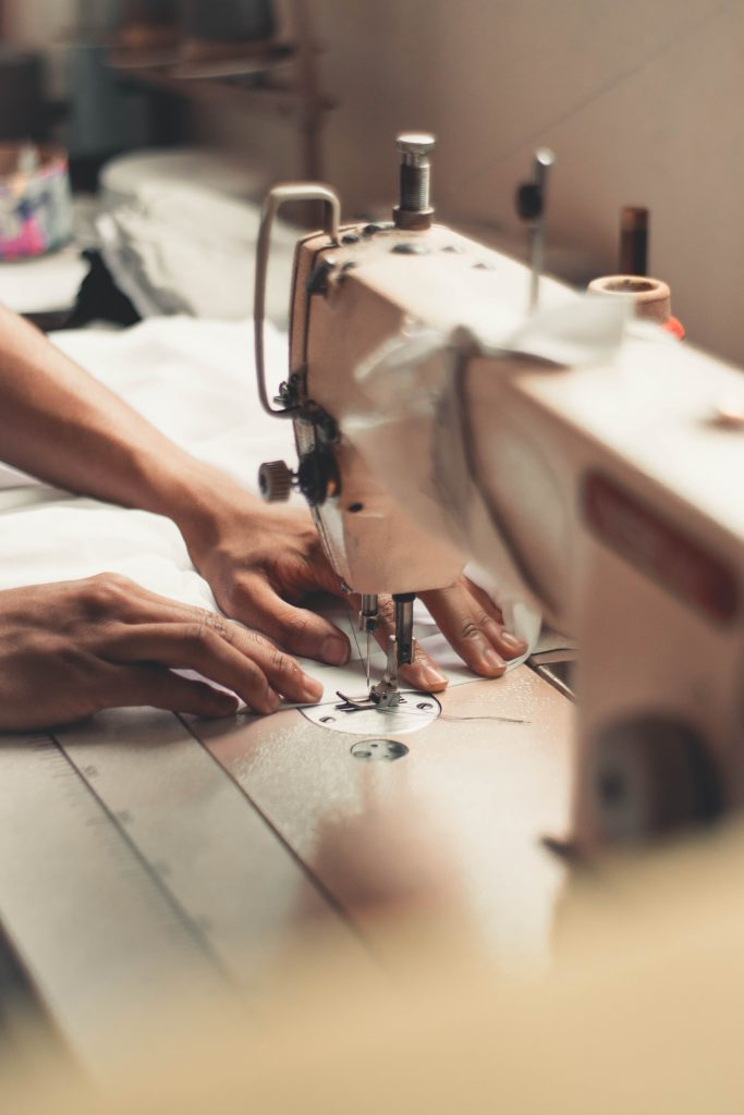 Sewing for Barter - Photo by Wallace Chuck from Pexels