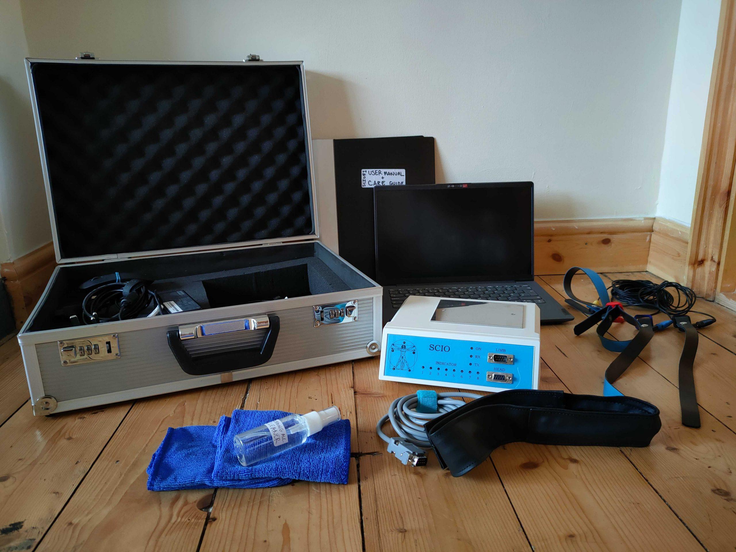 Full Equipment Set-Up 1